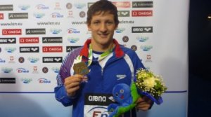 Michael Jamieson wins bronze at the European Shortcourse championships 2011