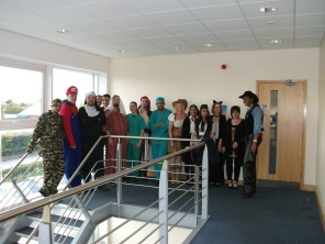 Slough Puts on the Fancy Dress