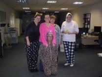 Some of the PJ crew