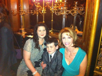 At the Reception with Jane Asher