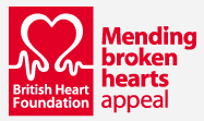 BHF Mending Broken Hearts logo