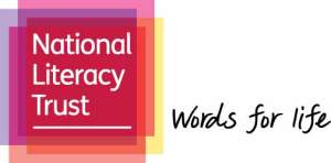 National Literacy Trust logo with strapline_RGB_LR