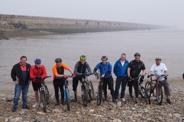 Left to right: Graham Armstong, Norman Cooke, Rob Stevenson, Sam Jama, Stephen Clark, Kev Graham, Fred_Napier, Richie Graham