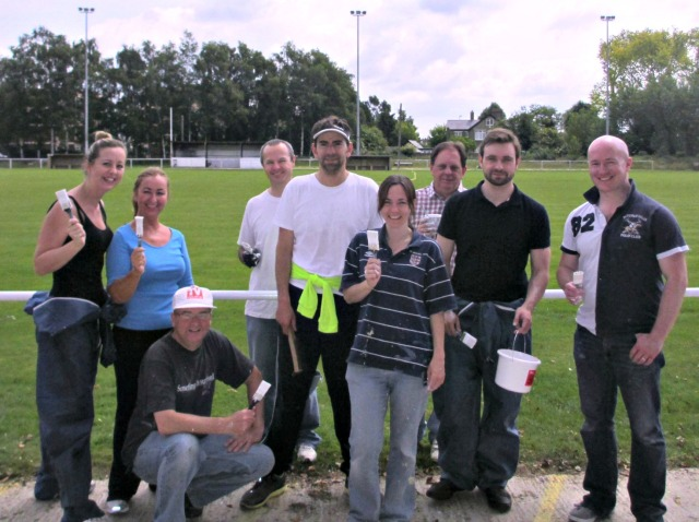 Smiths News paints Eynesbury Rovers FC