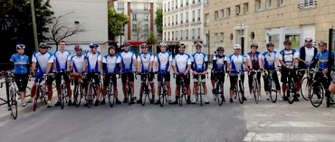 Setting off from Paris