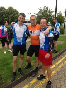 Consortium Bike riders