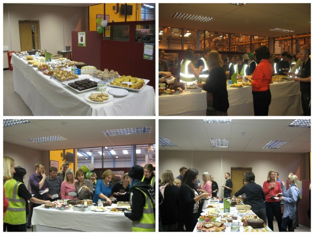The MacmillanCoffee morning at the Consortium