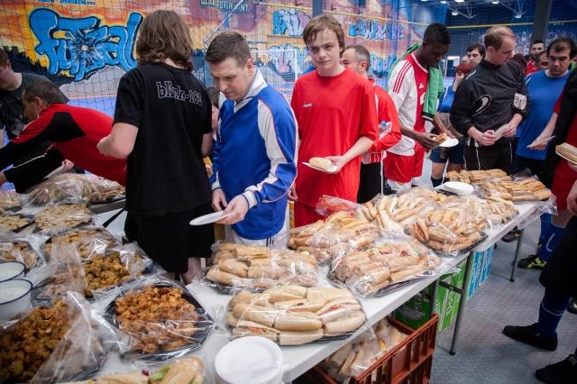 Futsal buffet