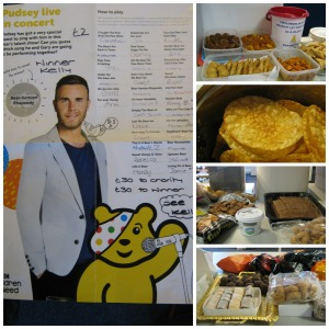Children in Need Borehamwood collage