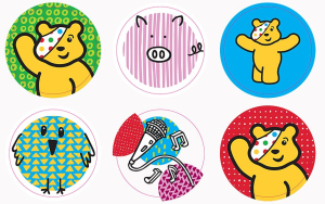 pudsey stickers