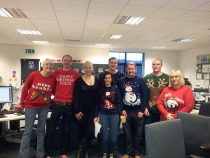 Christmas jumper NAC photo