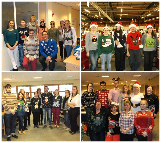 Christmas Jumper Day at Bertrams
