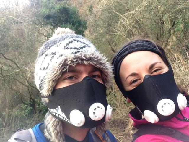 Masks used for altitude training