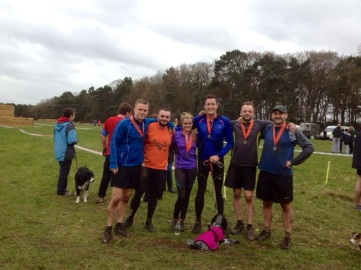 February: Derri Evans runs in the tough Gladi&tor event