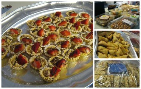 Borehamwood food for Sport Relief