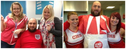 Sport Relief fun at the NAC