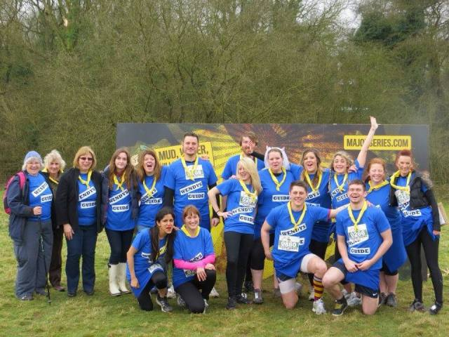 Team photo of Instore Field Marketing before they got mucky in the Mud Run
