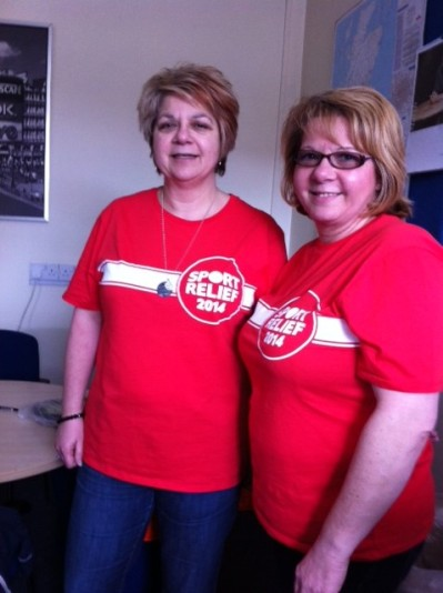 Photo of Sport Relief tops