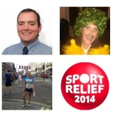 Sport Relief Flagship Fundraiser - various challenges & fundraising