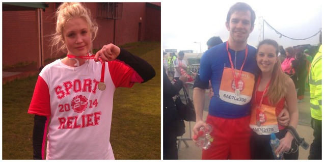 March: Sport Relief runners