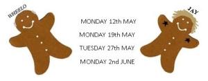 Dates for Worcester MSC bake-off