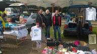 May: Walking Spirit show their car boot sale fundraising for TrekFest