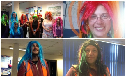 May: It's Wig Wednesday at Crawley