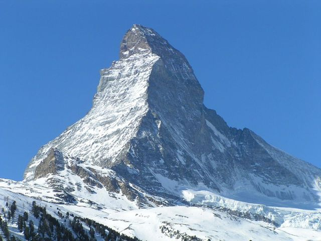 View of the Matterhorn from Zermatt