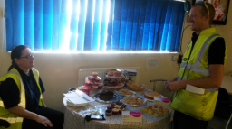 Charity fundraising at Nottingham House