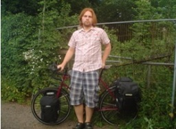 July: Dan Crockford cycled from France to Boom