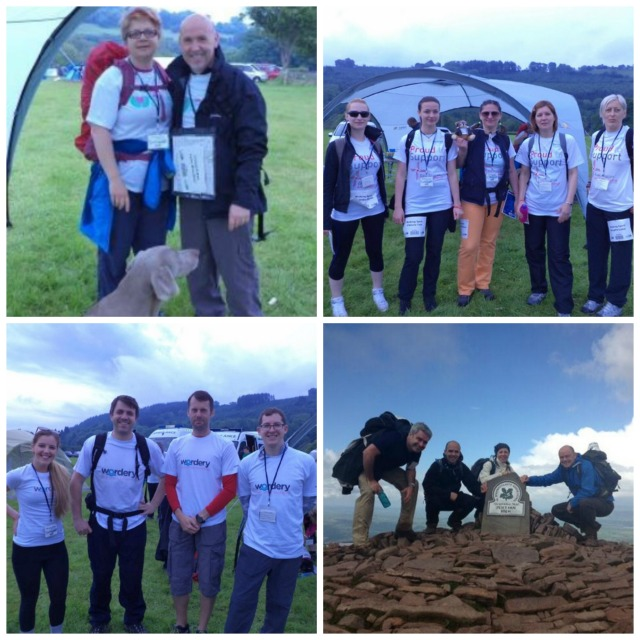 Connect Group plc TrekFest 2014 team collage