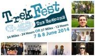 Trekfest team collage - 26 trekkers, 7 teams and 9 charities