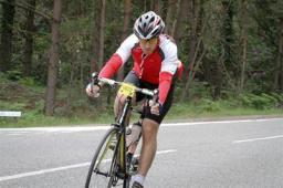 July: Jon Harris in training for Ride100