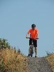alan sendall and bike