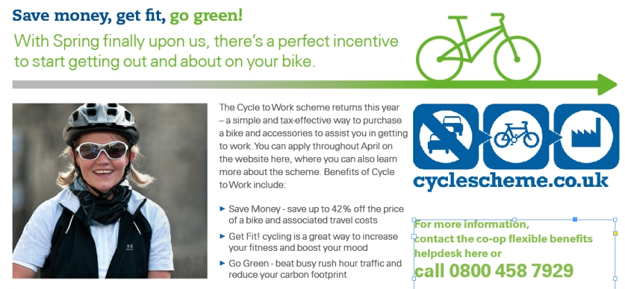 Cycle to work scheme details