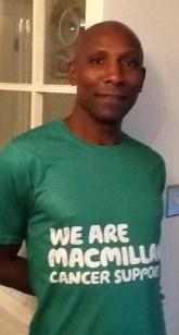 Eugene Howson is running the Barcelona marathon for Macmillan