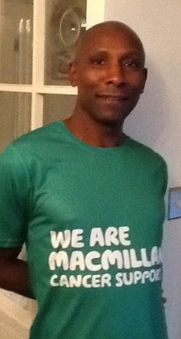 Eugene Howson is running the Barcelona marathon for Macmillan