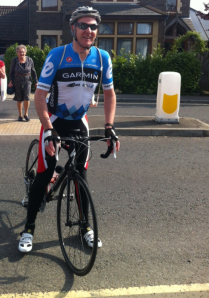 Picture of Ian Tallamy on his bike