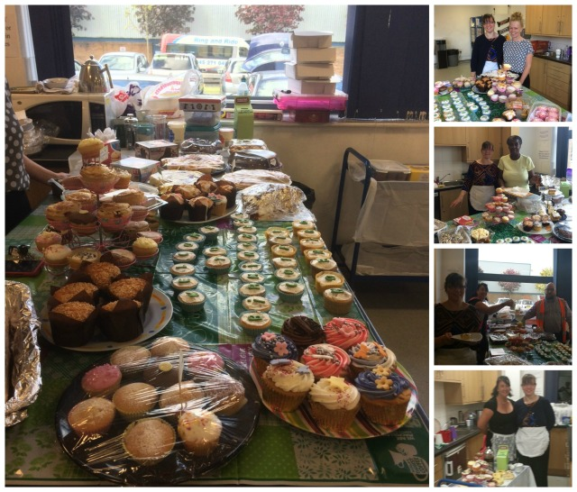 Photos from Birminghams Macmillan coffee morning