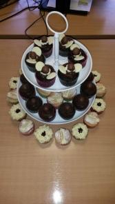 Consortium cakes for macmillan