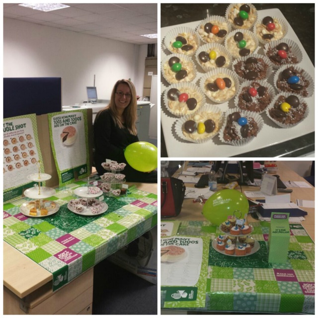 cakes at newports macmillan coffee morning