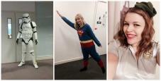 ... superheroes...