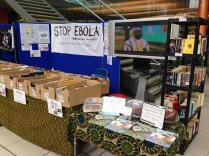 October: fund raising for Stop Ebola commenced