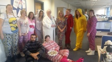 Wednesbury Children in Need pyjama day