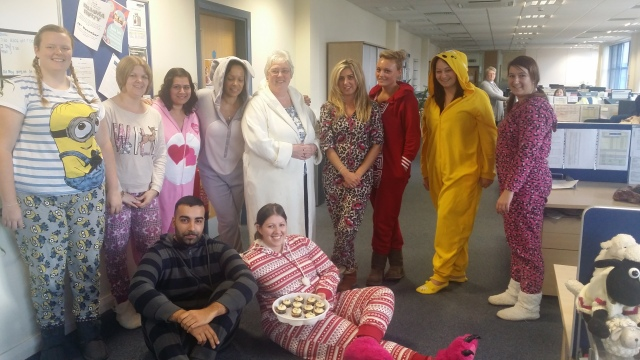 Wednesbury's Pyjama party for children in need