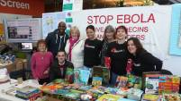 ... and more books, donations and time were given to Stop Ebola's Christmas stall in Norwich