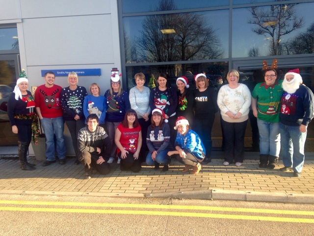Newcastle Christmas Jumper Day