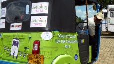 November: DMD linked up with British Airways to support their Tuk-tuk challenge in Sri Lanka