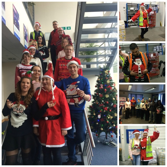 Christmas Jumpers at Slough