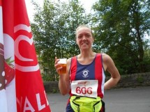 Jo Cooke embarks on her half marathon challenge